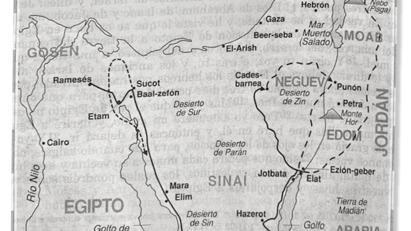 El Peregrinar del Arca y del Tabernáculo desde Sinaí hastaJerusalén